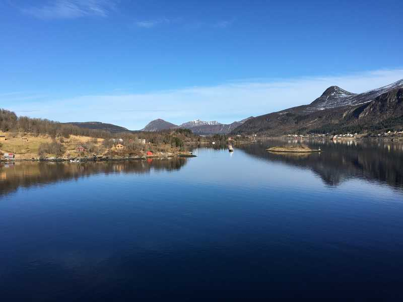 Bodø in Norwegen